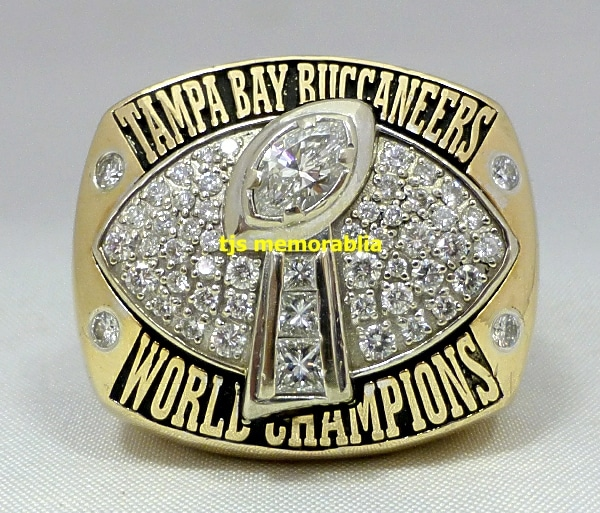 new style 2ede7 401a9 2002 TAMPA BAY BUCCANEERS SUPER BOWL XXXVII CHAMPIONSHIP ...