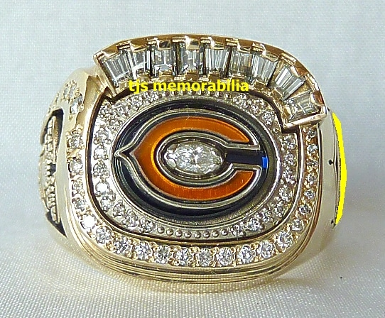 chicago bears rings for women