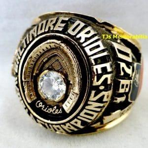 1970 BALTIMORE ORIOLES WORLD SERIES CHAMPIONSHIP RING