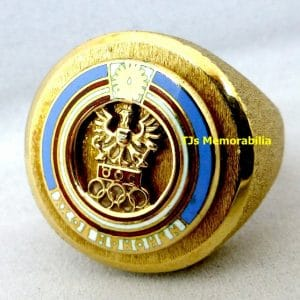 1972 OLYMPICS MUNICH AUSTRIAN GOLD MEDALIST CHAMPIONSHIP RING