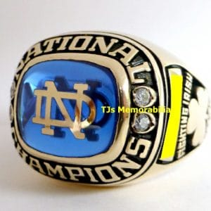 1973 NOTRE DAME FIGHTING IRISH FOOTBALL NATIONAL CHAMPIONSHIP RING