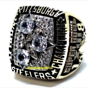 1978 PITTSBURGH STEELERS SUPER BOWL XIII CHAMPIONSHIP RING