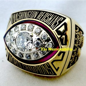 1982 WASHINGTON REDSKINS SUPER BOWL XVII CHAMPIONSHIP RING
