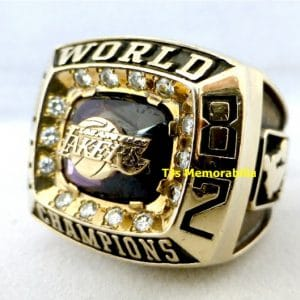 1982 LOS ANGELES LAKERS NBA CHAMPIONSHIP RING