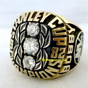 1982 NEW YORK ISLANDERS STANLEY CUP CHAMPIONSHIP RING