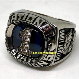 1982 PENN STATE NITTANY LIONS FOOTBALL NATIONAL CHAMPIONSHIP RING