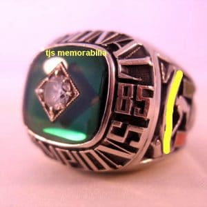 1985 MIAMI HURRICANES WORLD SERIES NATIONAL CHAMPIONSHIP RING