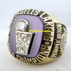 1985 LOS ANGELES LAKERS NBA CHAMPIONSHIP RING