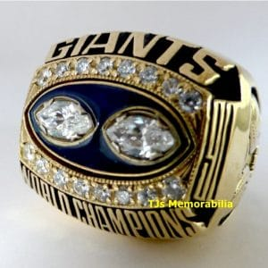 1990 NY NEW YORK GIANTS SUPER BOWL XXV CHAMPIONSHIP RING