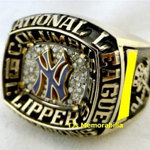 1991 COLUMBUS CLIPPERS NY YANKEES INTERNATIONAL LEAGUE CHAMPIONSHIP RING