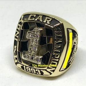 1993 PPG INDY PAUL NEWMAN RACING CHAMPIONS CHAMPIONSHIP RING