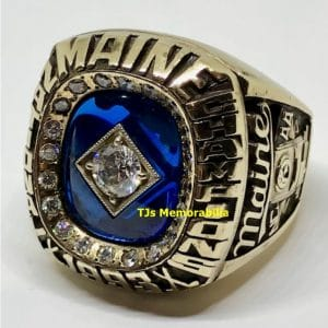 1993 MAINE BLACK BEARS HOCKEY NATIONAL CHAMPIONSHIP RING