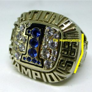 1996 FLORIDA GATORS NATIONAL CHAMPIONS CHAMPIONSHIP RING