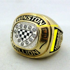 1997 HENDRICKS RACING JEFF GORDON WINSTON MILLION CHAMPIONSHIP RING