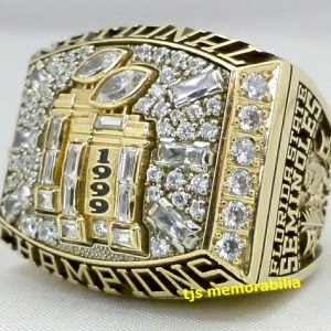 1999 FLORIDA STATE FSU SEMINOLES NATIONAL CHAMPIONSHIP RING