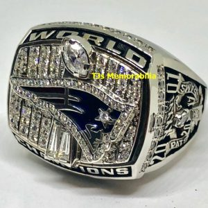 2001 NEW ENGLAND PATRIOTS SUPER BOWL XXXVI CHAMPIONSHIP RING