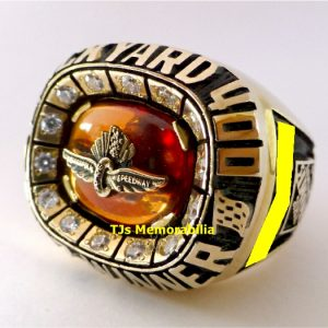 2007 BRICKYARD 400 WINNERS CHAMPIONSHIP RING