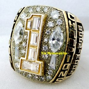 2006 APPALACHIAN STATE MOUNTAINEERS BACK TO BACK NATIONAL CHAMPIONSHIP RING