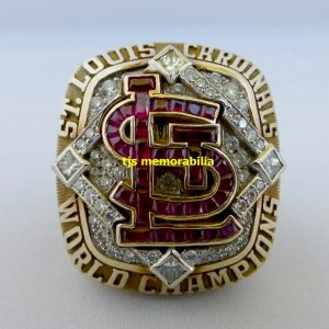 2006 SAINT LOUIS CARDINALS WORLD SERIES CHAMPIONSHIP RING & ORIGINAL PRESENTATION BOX