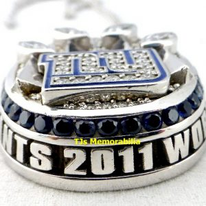 2011 NEW YORK GIANTS SUPER BOWL XLVI CHAMPIONSHIP RING TOP PENDANT