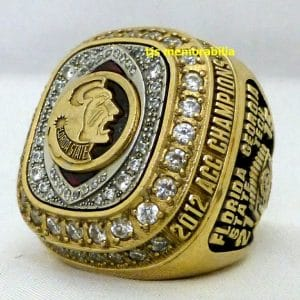 2012 FSU FLORIDA STATE SEMINOLES ACC CHAMPIONSHIP RING PLAYER
