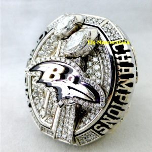 2012 BALTIMORE RAVENS SUPER BOWL XLVII CHAMPIONSHIP RING