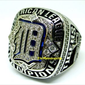 2012 DETROIT TIGERS AMERICAN LEAGUE CHAMPIONSHIP RING