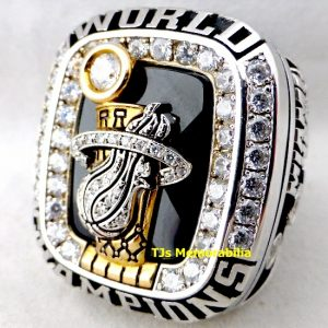 2012 MIAMI HEAT NBA CHAMPIONSHIP RING STAFFER
