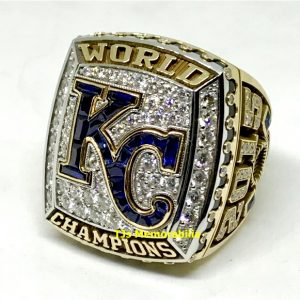2015 KANSAS CITY KC ROYALS WORLD SERIES CHAMPIONSHIP RING
