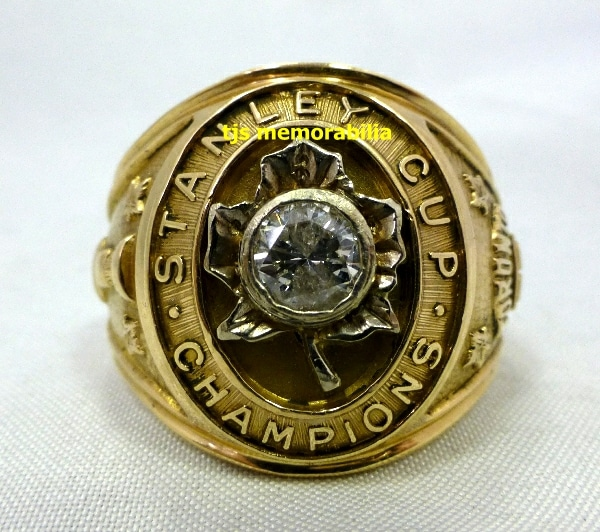 1962 TORONTO MAPLE LEAFS STANLEY CUP CHAMPIONSHIP RING - Buy