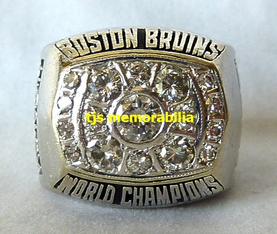 1972 BOSTON BRUINS STANLEY CUP CHAMPIONSHIP RING BOBBY ORR