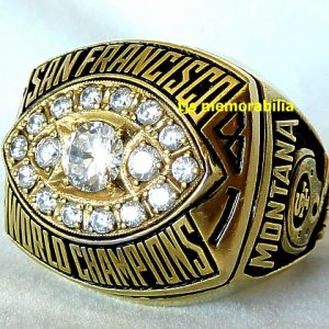 1981 SAN FRANCISCO 49ERS SUPER BOWL XVI CHAMPIONSHIP RING
