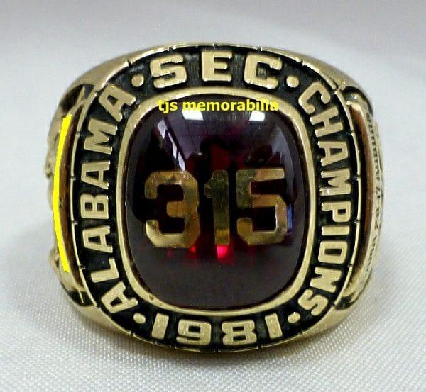 1981 SEC Champions