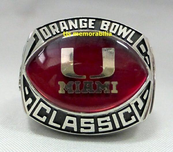 1989 Orange Bowl Champions
