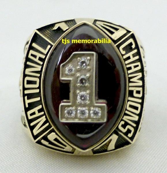 1997 National Championship Football