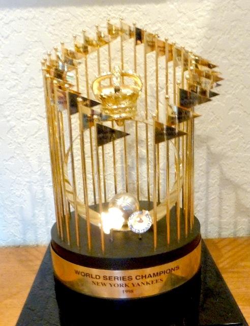 1998 New York Yankees World Series Championship Trophy Buy