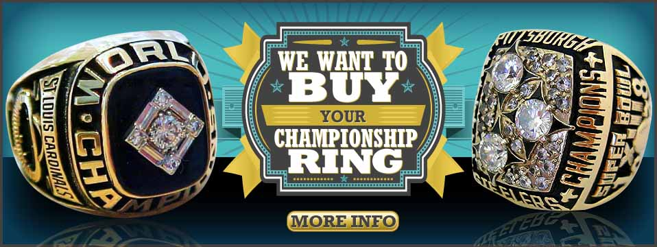 Buy And Sell Authentic Championship Rings Nfl Nba Mlb