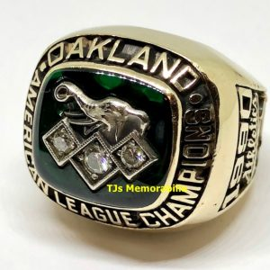 1990 OAKLAND A'S ATHLETICS AMERICAN LEAGUE CHAMPIONS CHAMPIONSHIP RING