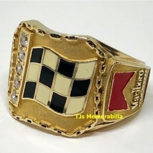 2003 INDY 500 WINNERS CHAMPIONSHIP RING – INDIANAPOLIS 500