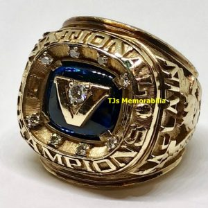 1985 VILLANOVA WILDCATS NCAA BASKETBALL NATIONAL CHAMPIONSHIP RING – GARY MCLAIN'S- ORIGINAL RING