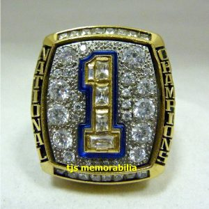 2008 FLORIDA GATORS SEC , BCS & NATIONAL CHAMPIONSHIP RING SET