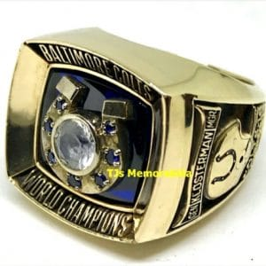 1970 BALTIMORE COLTS SUPER BOWL V CHAMPIONS CHAMPIONSHIP RING