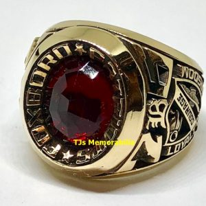 1976 NEW ENGLAND PATRIOTS SPIRIT OF 76 CHAMPIONSHIP RING