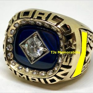 1978 NEW YORK YANKEES WORLD SERIES CHAMPIONSHIP RING