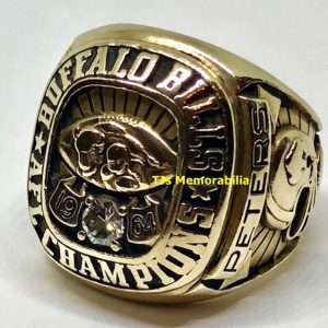 1964 BUFFALO BILLS AMERICAN FOOTBALL LEAGUE AFL CHAMPIONSHIP RING