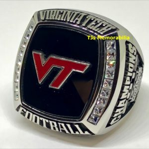 2012 VIRGINIA TECH HOKIES CITRUS BOWL CHAMPIONSHIP RING