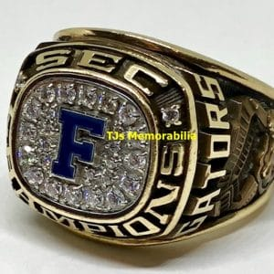 1995 FLORIDA GATORS FOOTBALL SEC CHAMPIONSHIP RING