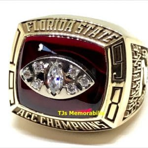 1998 Florida State Seminoles Fsu ACC Football Championship Ring
