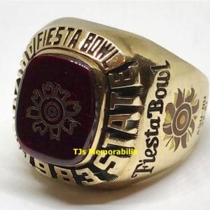 1983 ARIZONA STATE SUN DEVILS FIESTA BOWL CHAMPIONSHIP RING