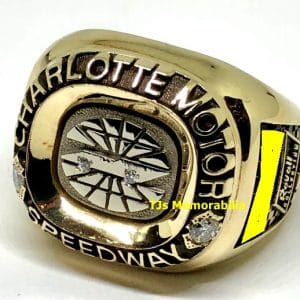 1996 CHARLOTTE MOTOR SPEEDWAY COCA COLA 600 WINNERS CHAMPIONSHIP RING